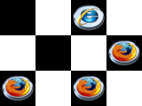 Browser War Checkers